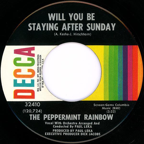 peppermint rainbow